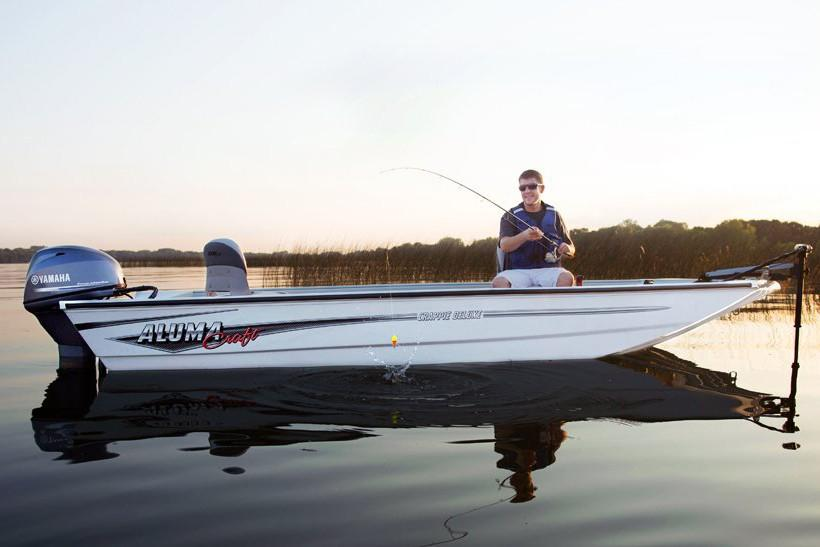 2019 Alumacraft Crappie Deluxe in Black River Falls, Wisconsin