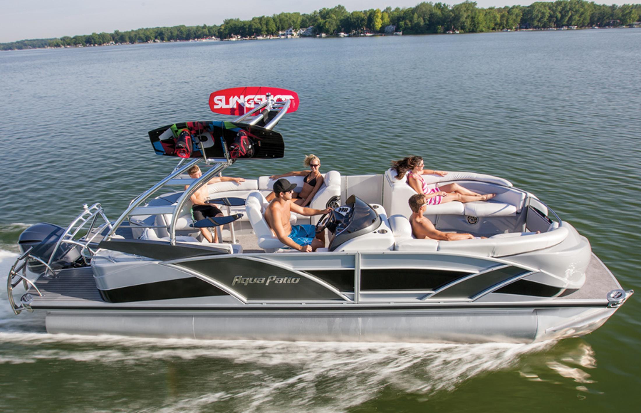 New 2013 Aqua Patio 250 Express Power Boats Inboard in Kalamazoo