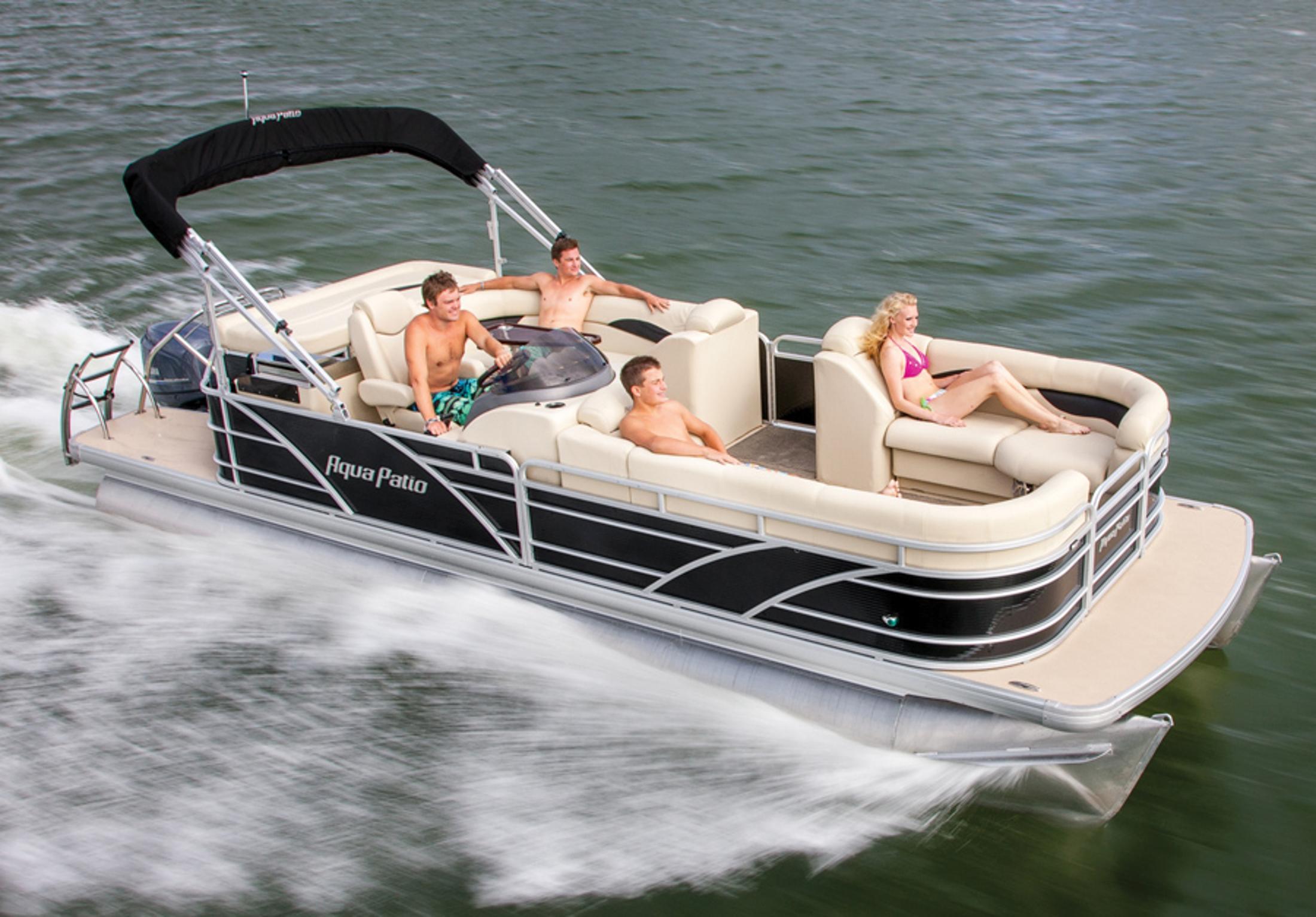 New 2014 Aqua Patio 240 4 AD Power Boats Inboard in Kalamazoo MI