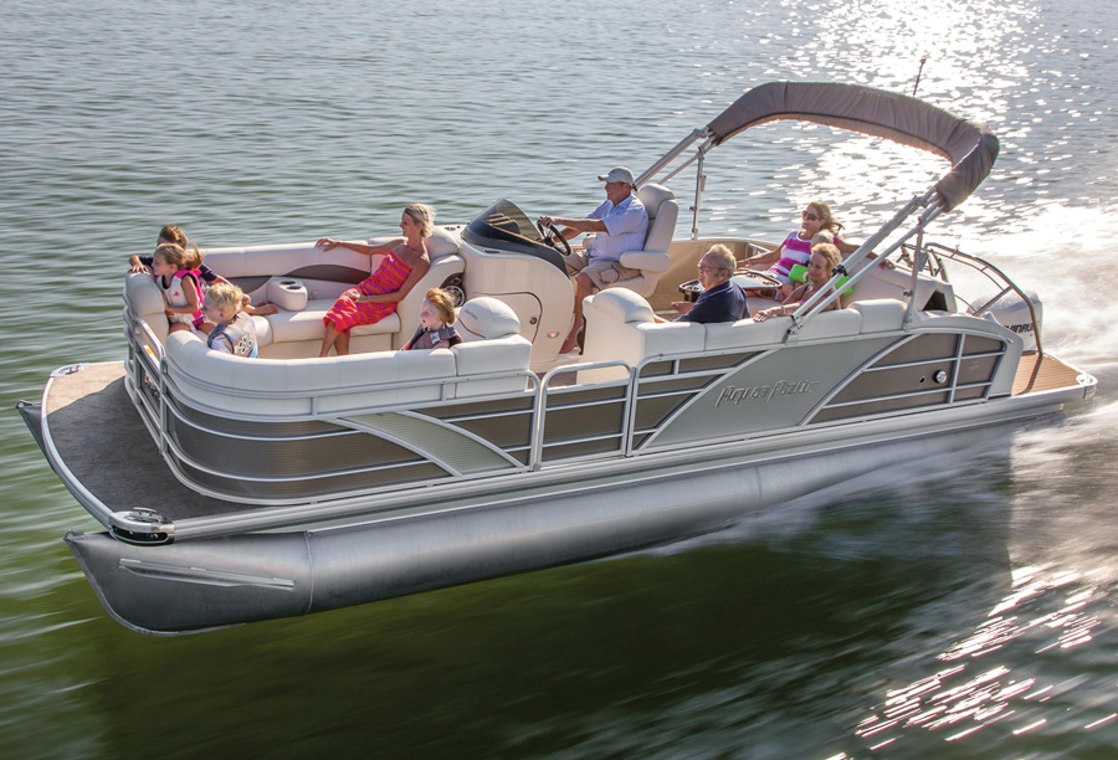 New 2014 Aqua Patio 240 OB Elite Power Boats Outboard in Lafayette LA