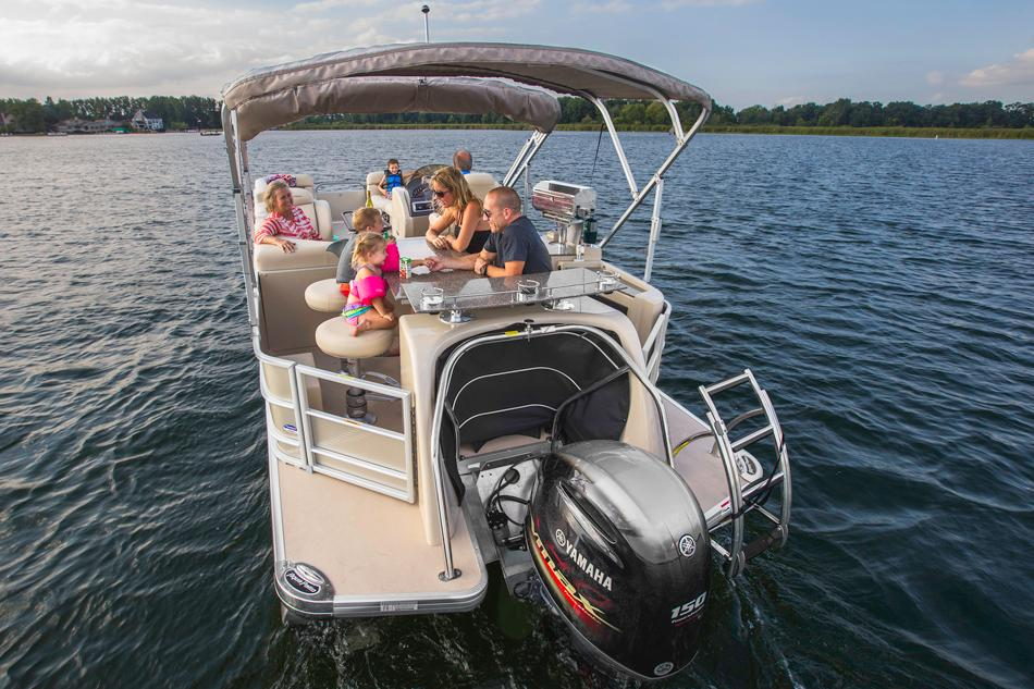 2016 Aqua Patio 240 CB in Kalamazoo, Michigan