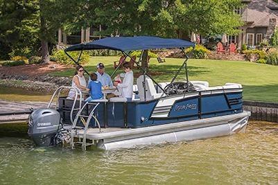 2017 Aqua Patio 195 CB. Pontoon Boats