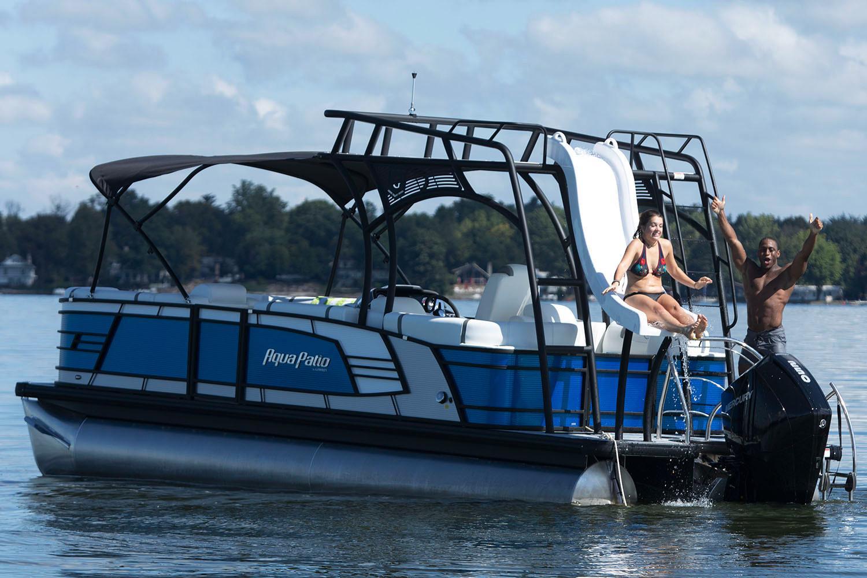 New 2019 Aqua Patio 255 Sb Power Boats Outboard In Coloma