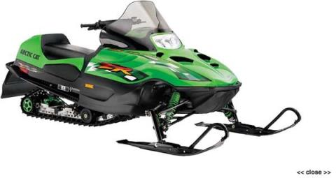 2001 Arctic Cat ZR® 600 EFI in Munising, Michigan