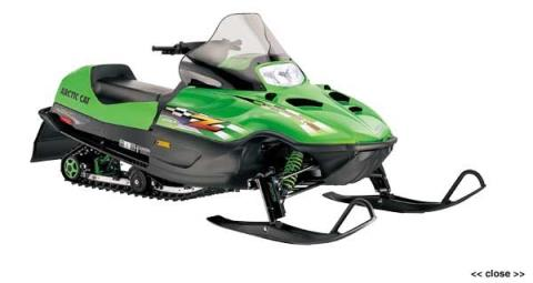 2001 Arctic Cat Z® 370 in Hillsborough, New Hampshire