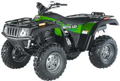 2003 Arctic Cat 400 4X4 Automatic in Francis Creek, Wisconsin