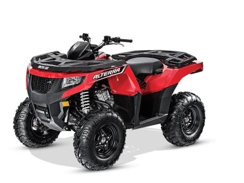 2016 Arctic Cat Alterra 550 in Shawano, Wisconsin