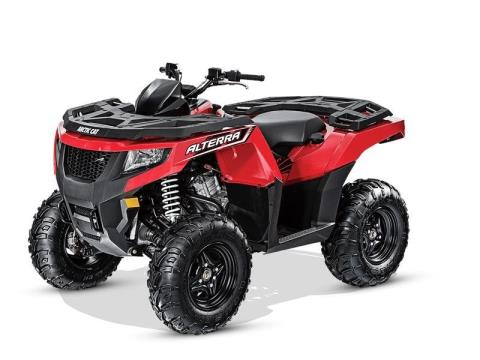2016 Arctic Cat Alterra 700 in Shawano, Wisconsin