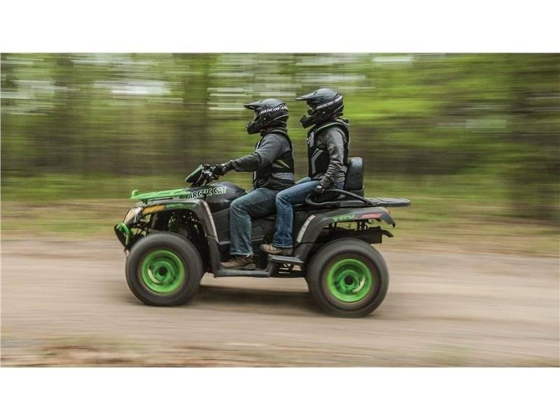 2016 Arctic Cat TRV 700 Special Edition in Trego, Wisconsin
