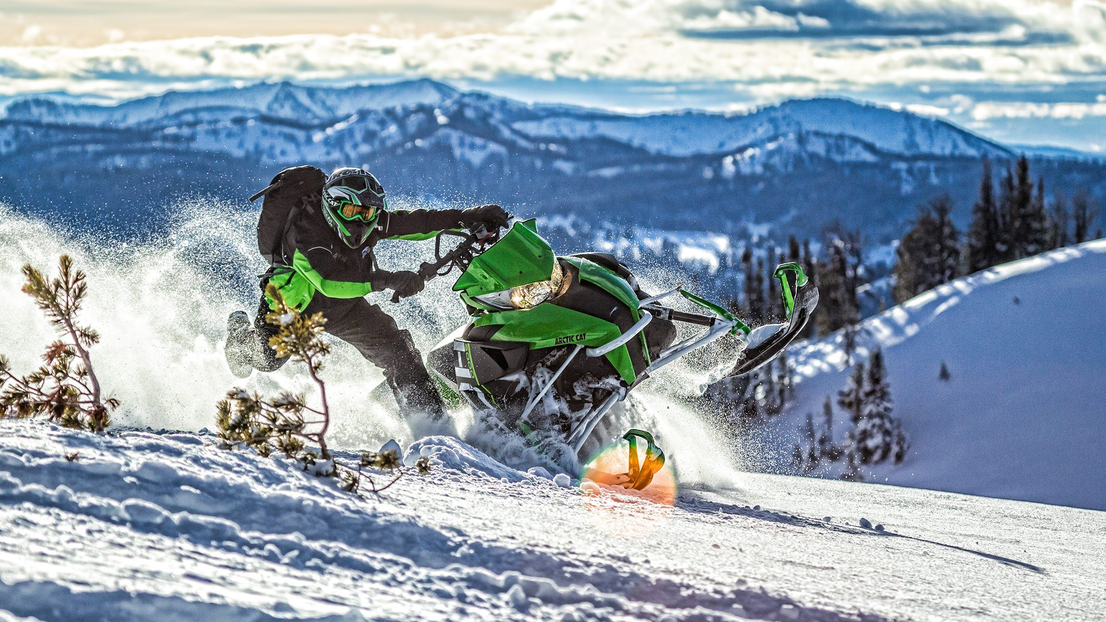 "2016 Arctic Cat M 8000 162"" Limited ES in Barrington, New Hampshire"