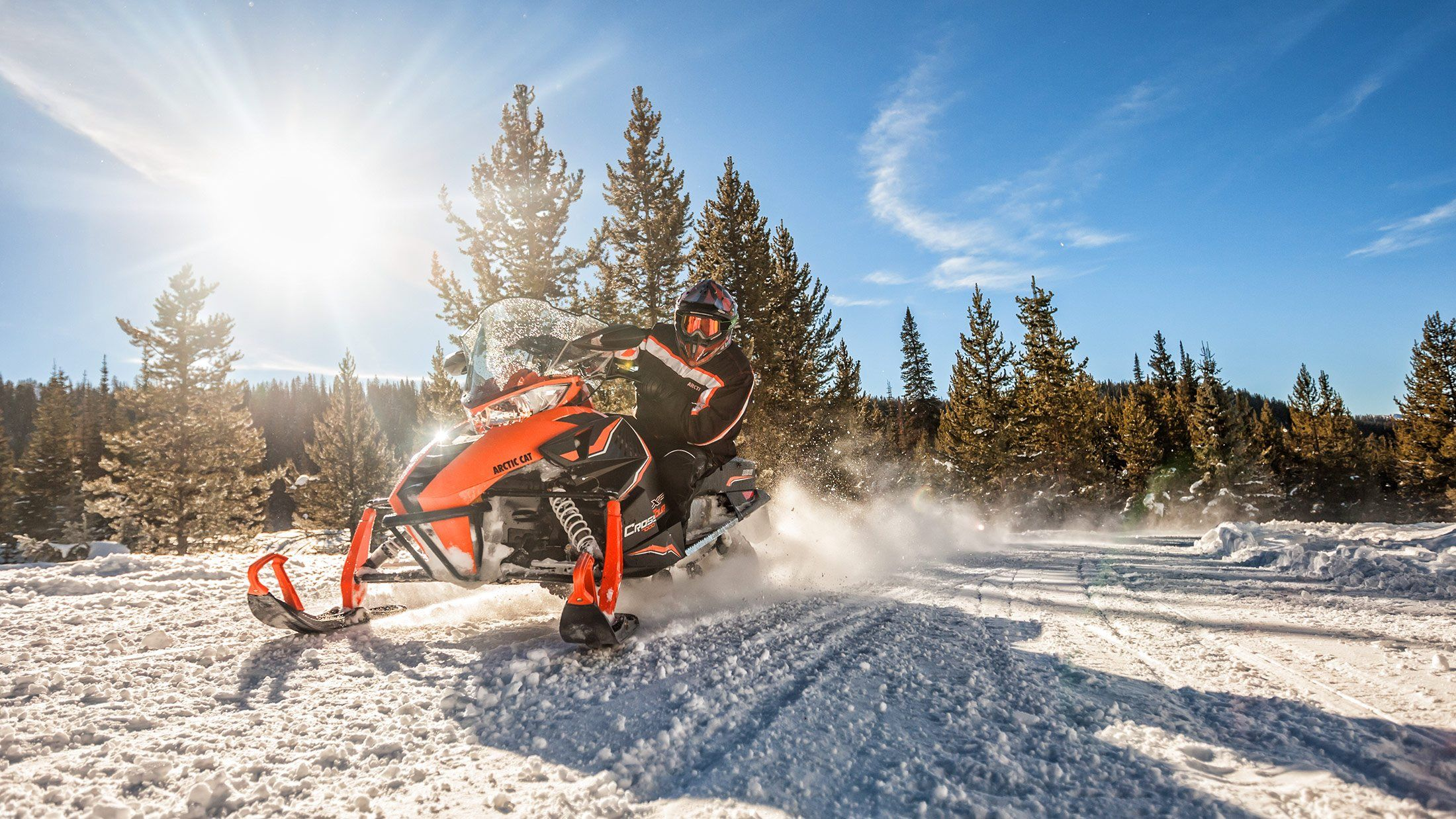 "2016 Arctic Cat XF 6000 137"" CrossTrek  ES in Barrington, New Hampshire"