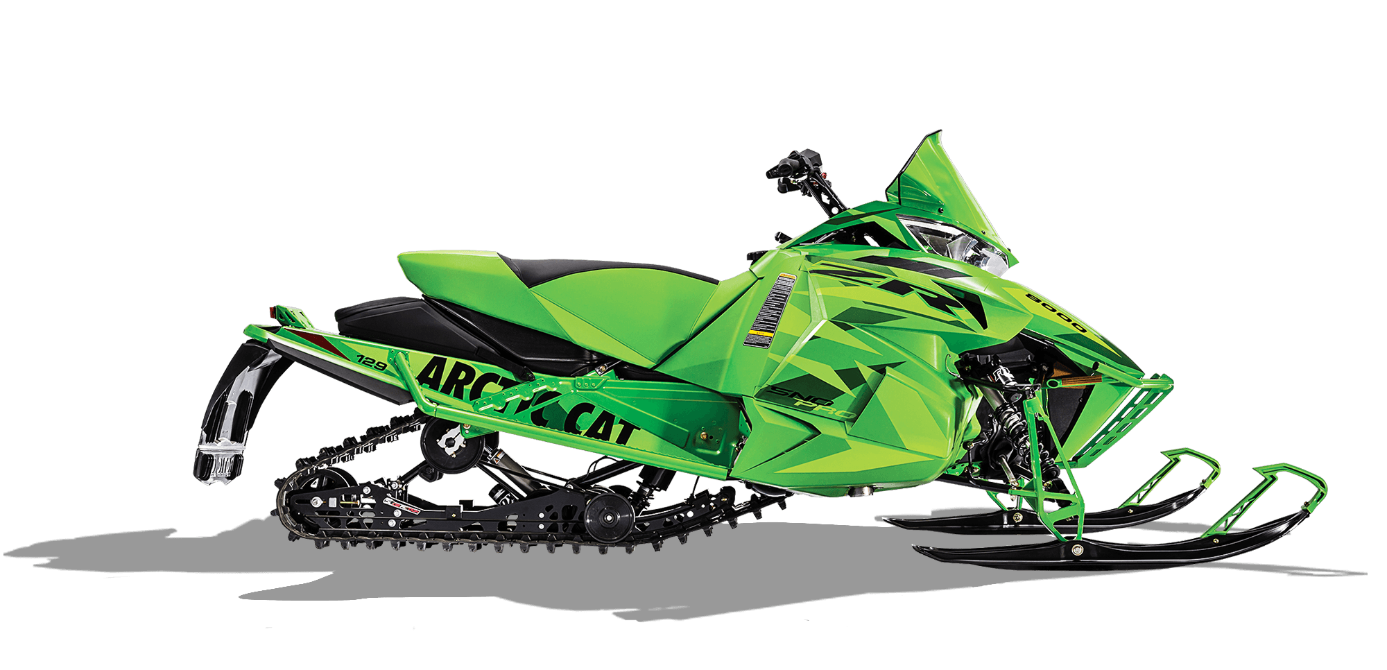 Team Arctic Green Arctic Cat ZR 8000 129