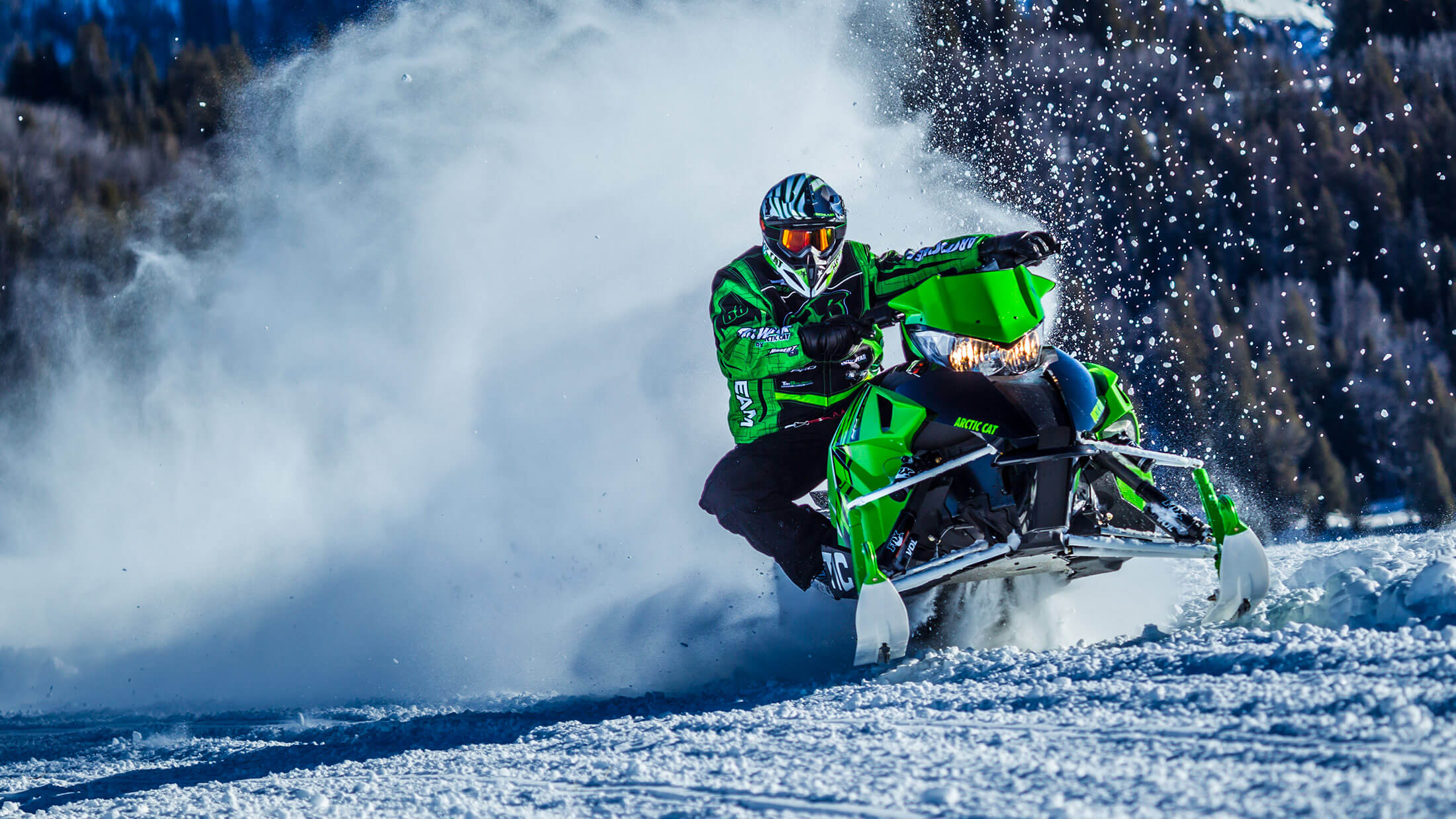 "2016 Arctic Cat ZR 8000 129"" LXR ES in Hamburg, New York"