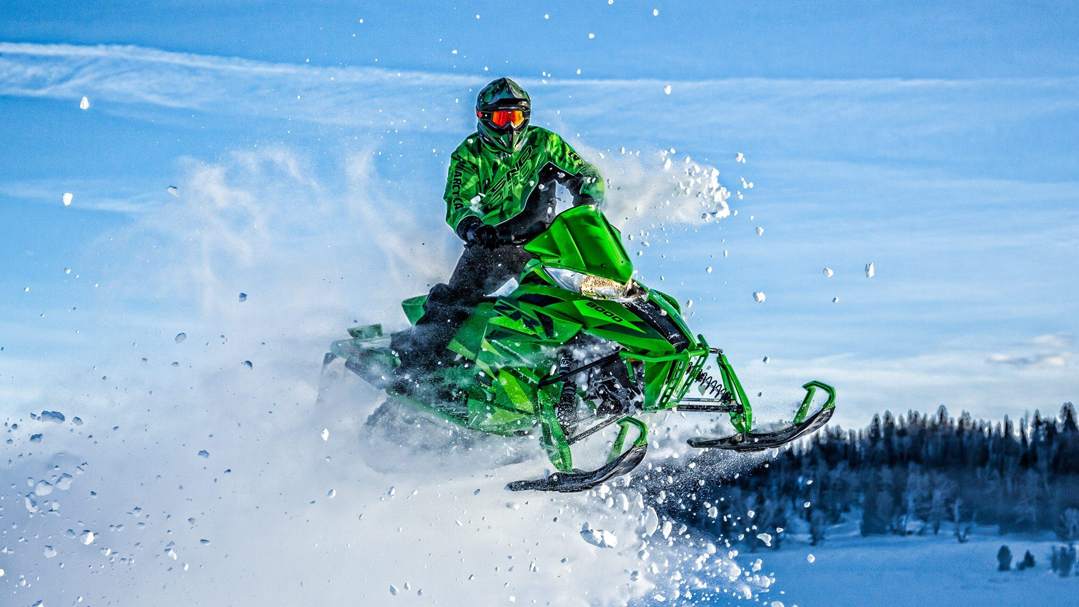 "2016 Arctic Cat ZR 8000 129"" LXR ES in Roscoe, Illinois"