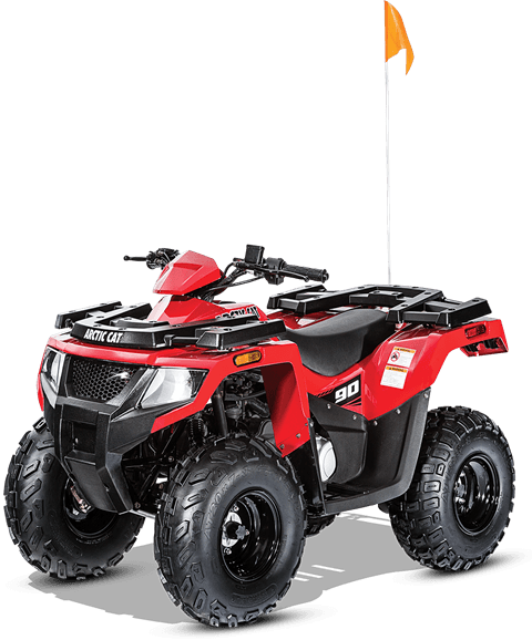 2017 Arctic Cat Alterra 90 in Black River Falls, Wisconsin