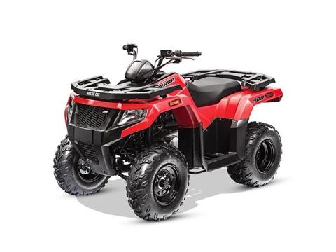 2017 Arctic Cat Alterra 300 in Muskogee, Oklahoma