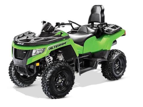 2017 Arctic Cat Alterra TRV 500 in Trego, Wisconsin