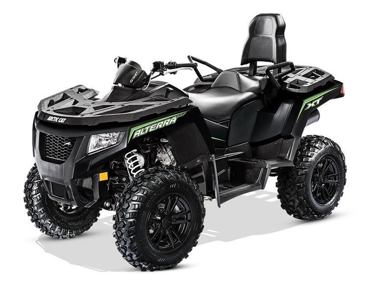 2017 Arctic Cat Alterra TRV 550 XT EPS in Black River Falls, Wisconsin