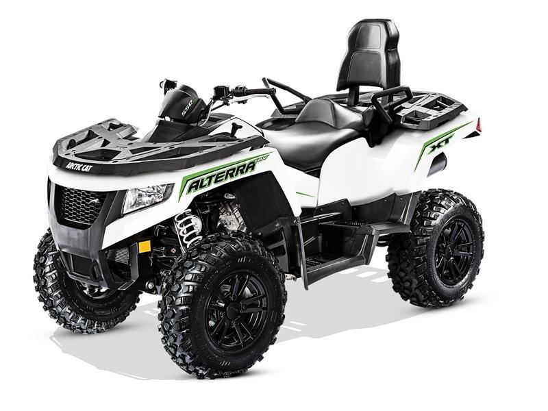 2017 Arctic Cat Alterra TRV 550 XT EPS in Barrington, New Hampshire