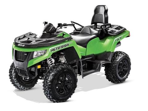2017 Arctic Cat Alterra TRV 700 XT EPS in Trego, Wisconsin