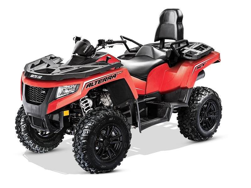 2017 Arctic Cat Alterra TRV 700 XT EPS in Barrington, New Hampshire