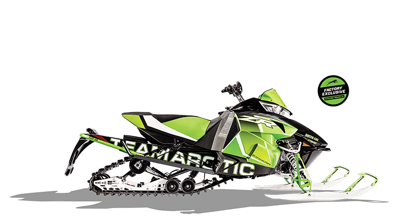 2017 Arctic Cat ZR 6000 RR ES 129 in Francis Creek, Wisconsin