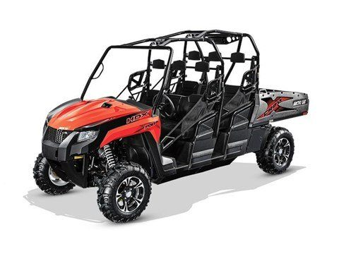 2017 Arctic Cat HDX 700 Crew XT in Francis Creek, Wisconsin