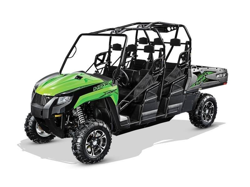 2017 Arctic Cat HDX 700 Crew XT in Berlin, New Hampshire