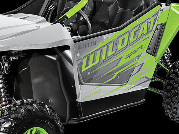 2017 Arctic Cat Wildcat Sport Limited EPS in Roscoe, Illinois