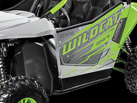 2017 Arctic Cat Wildcat Sport Limited EPS in Barrington, New Hampshire