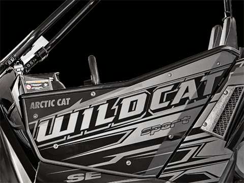 2017 Arctic Cat Wildcat Sport SE EPS in Francis Creek, Wisconsin