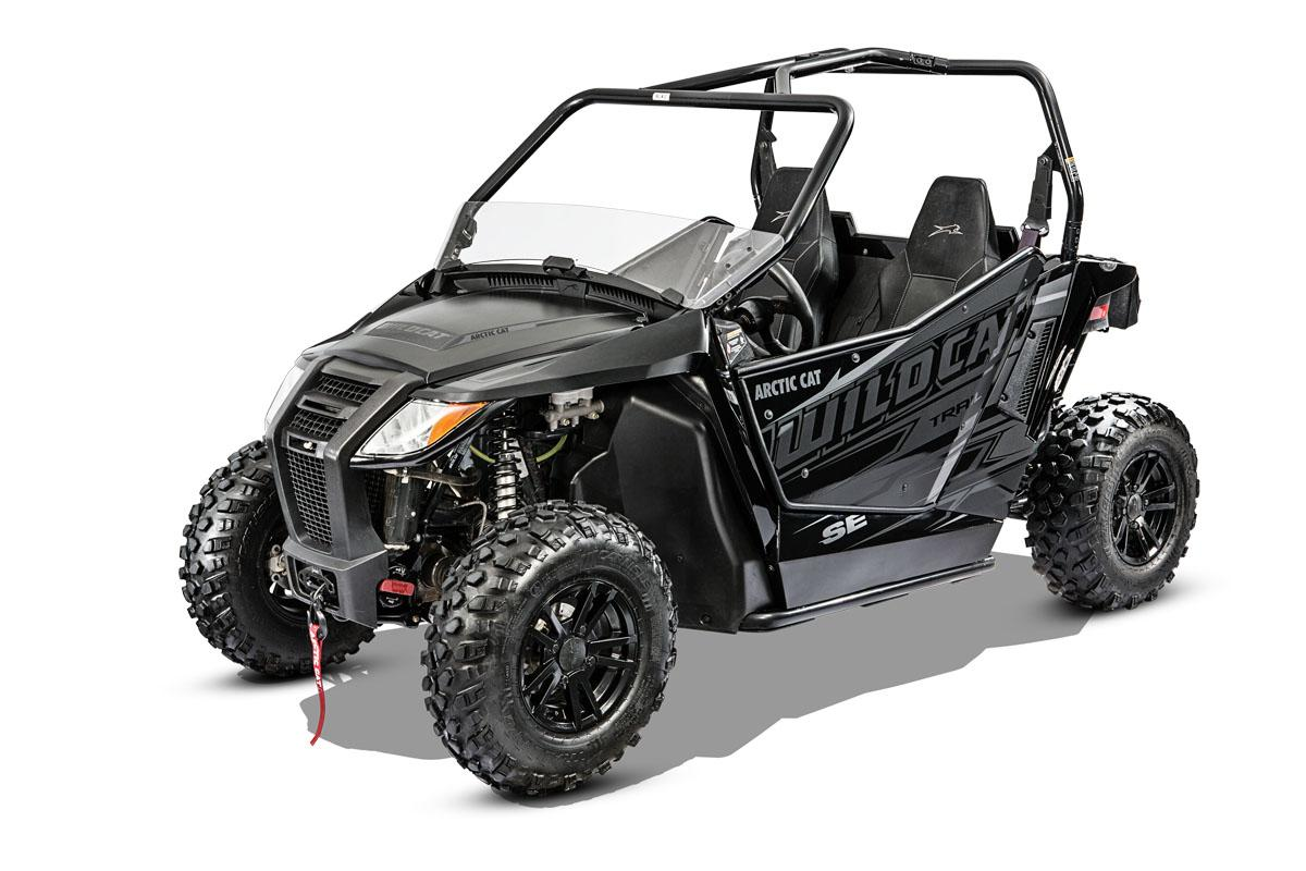 2017 Arctic Cat Wildcat Trail SE EPS in Sacramento, California