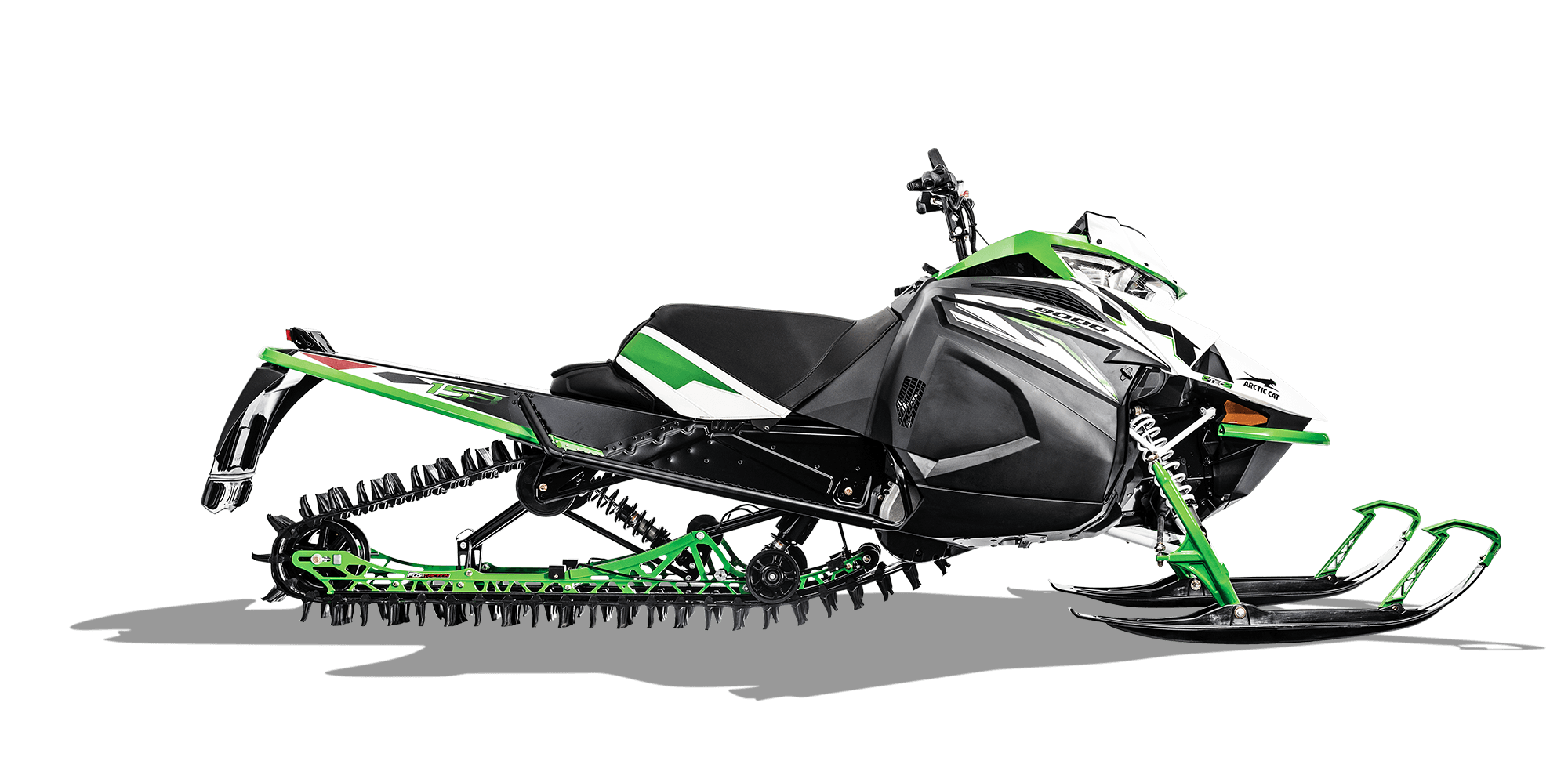 2018 Arctic Cat M 8000 153 in Baldwin, Michigan