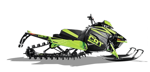 2018 Arctic Cat M 8000 Mountain Cat ES (153) in Hillman, Michigan