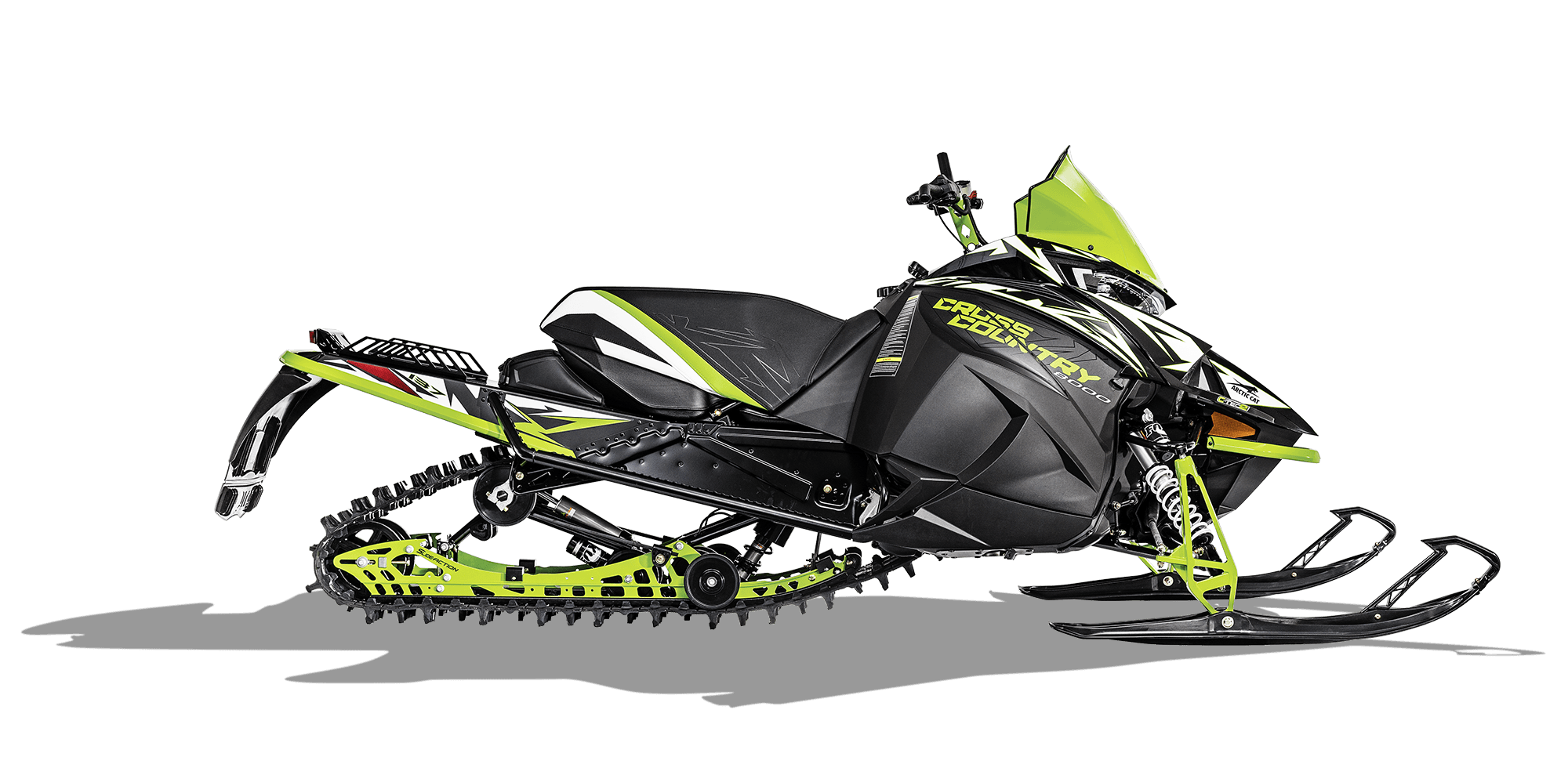 2018 Arctic Cat XF 8000 Cross Country Limited ES Early Build in Covington, Georgia