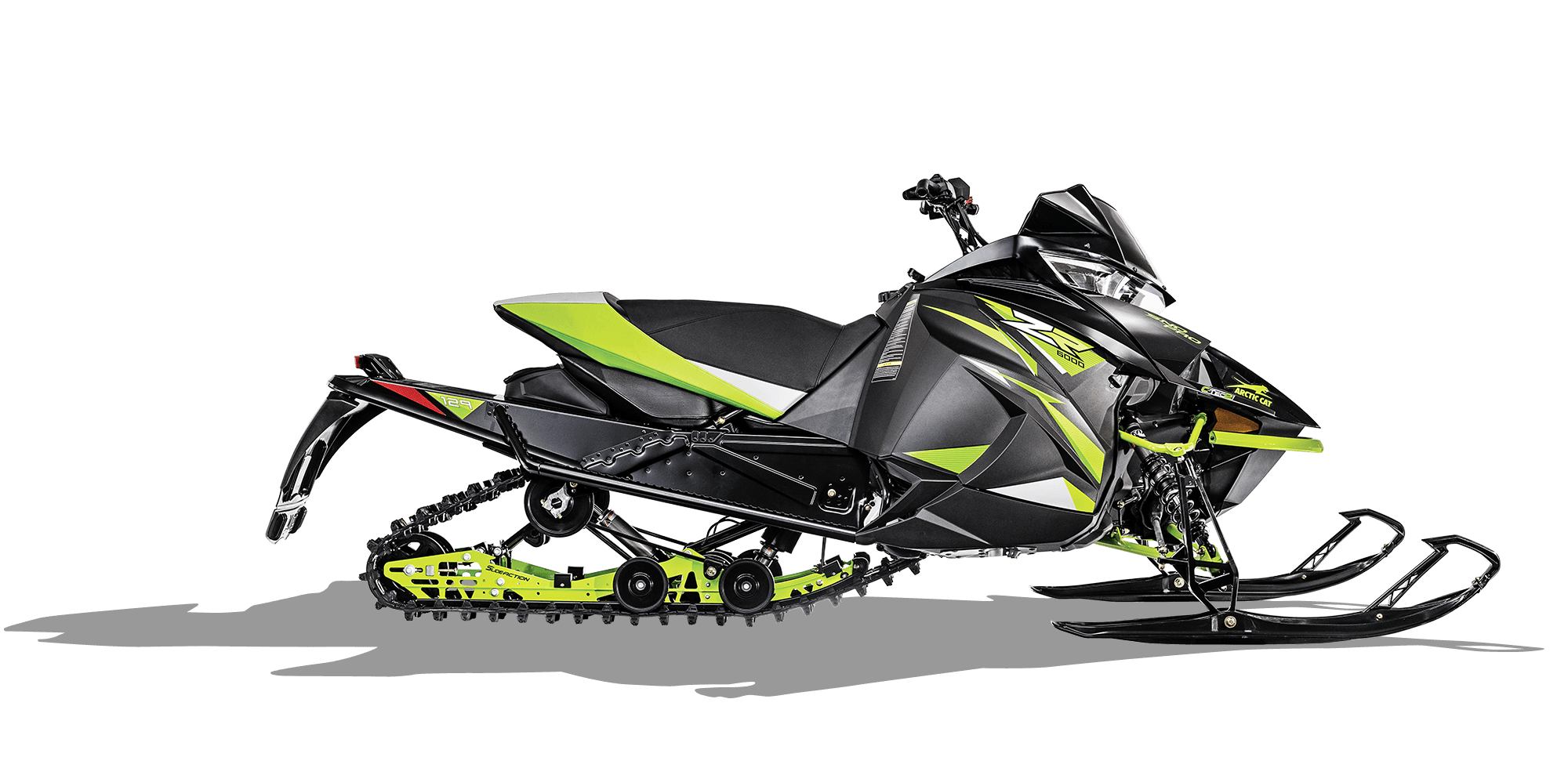 2018 Arctic Cat ZR 6000 Sno Pro ES (129) in Concord, New Hampshire