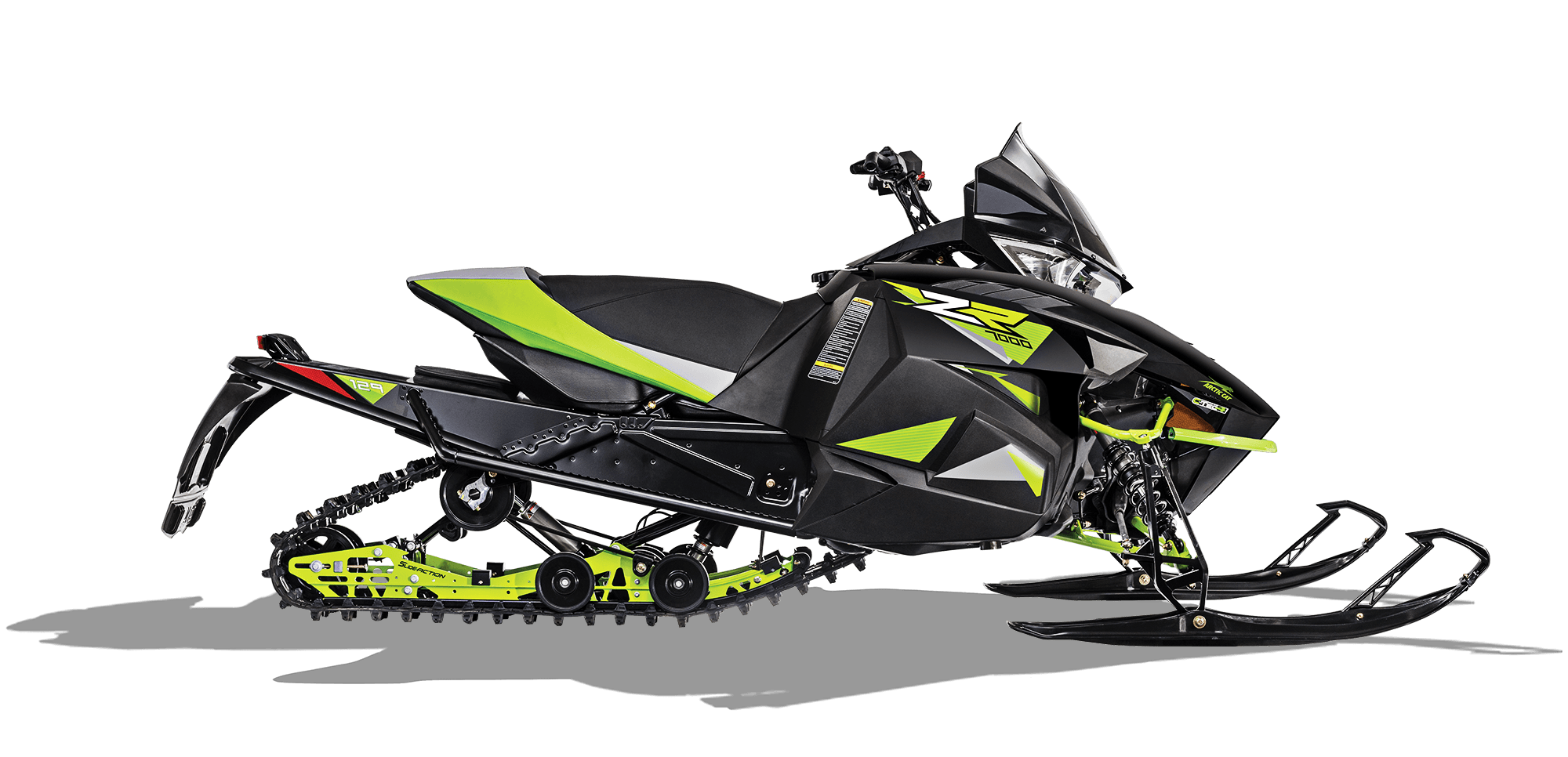 2018 Arctic Cat ZR 7000 (129) in Fond Du Lac, Wisconsin