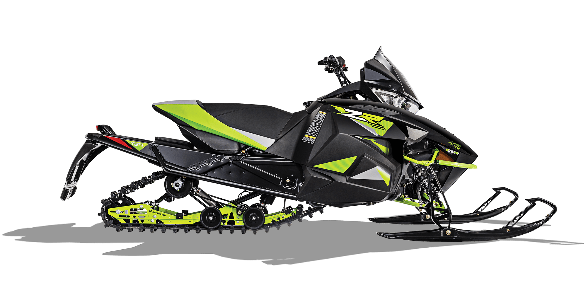2018 Arctic Cat ZR 7000 (137) in Ebensburg, Pennsylvania