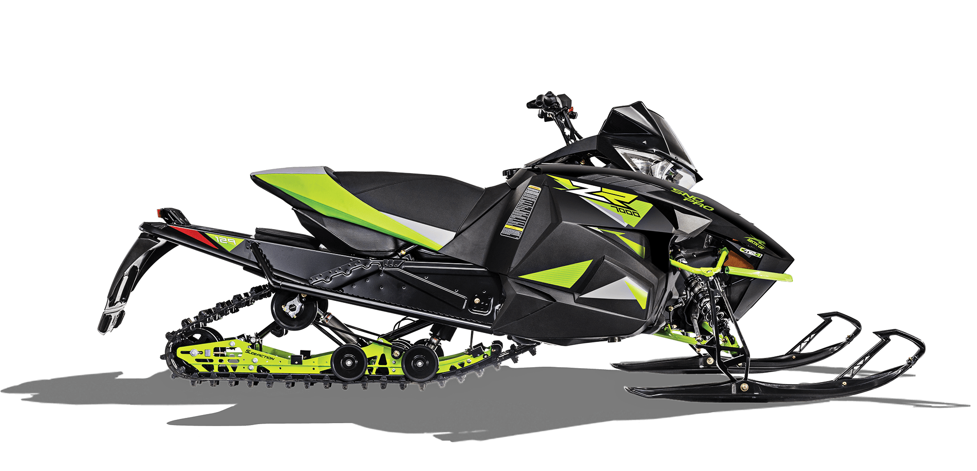 2018 Arctic Cat ZR 7000 Sno Pro (129) in Hancock, Michigan