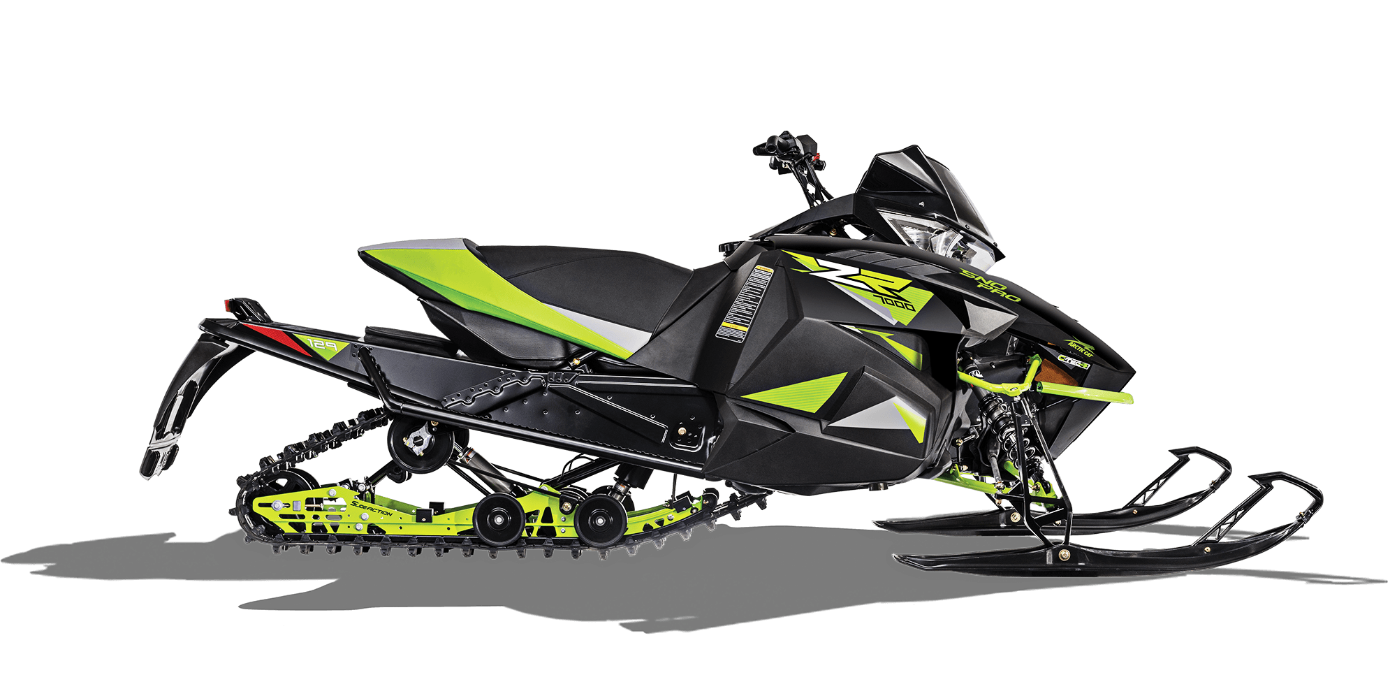 2018 Arctic Cat ZR 7000 Sno Pro (137) in Mio, Michigan