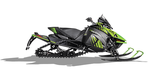 2018 Arctic Cat ZR 8000 El Tigre ES (129) in Baldwin, Michigan