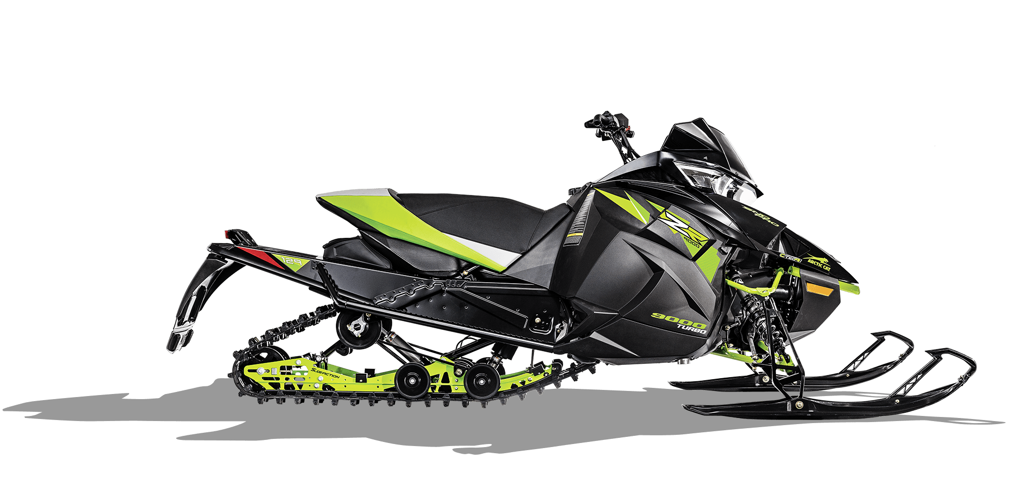 2018 Arctic Cat ZR 9000 Sno Pro (129) in Mio, Michigan