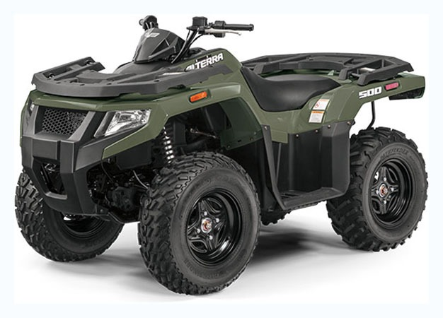2019 Arctic Cat Alterra 500 in Hillsborough, New Hampshire