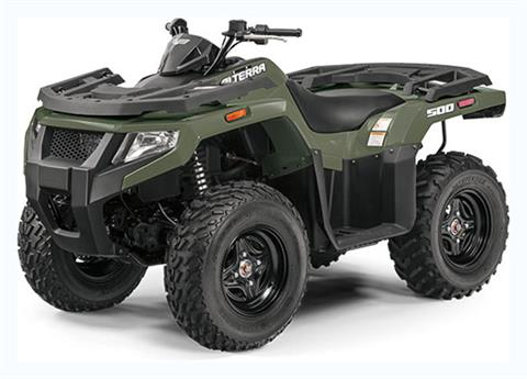 2019 Arctic Cat Alterra 500 in Lebanon, Maine