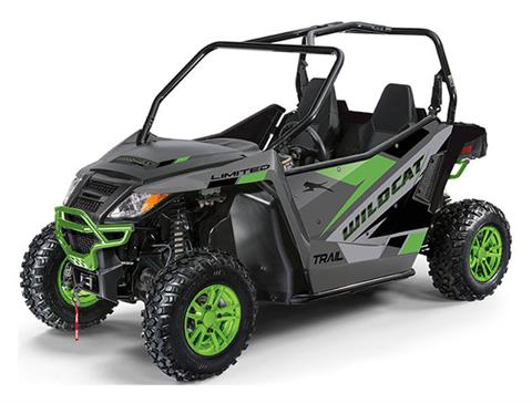 2020 Arctic Cat Wildcat Trail LTD in Bismarck, North Dakota