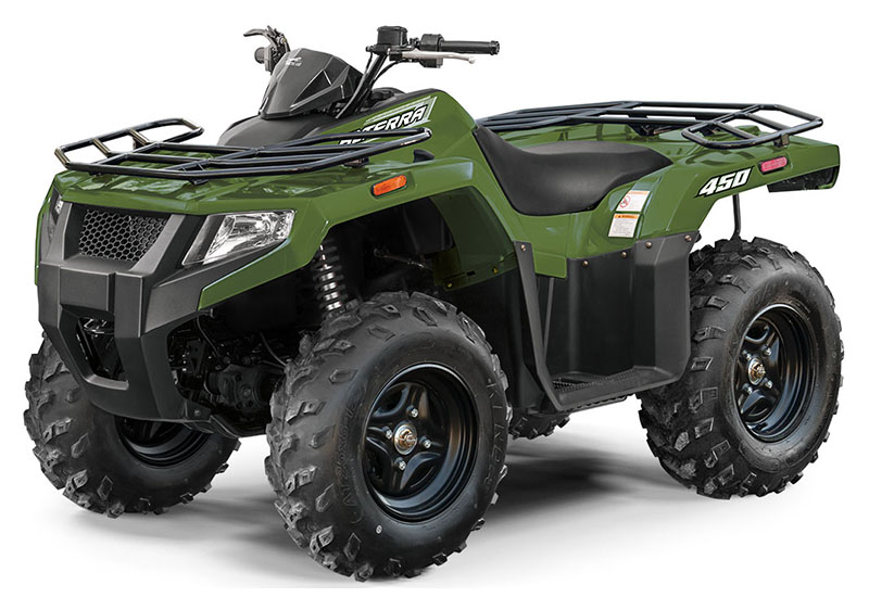 2021 Arctic Cat Alterra 450 in New Durham, New Hampshire - Photo 1