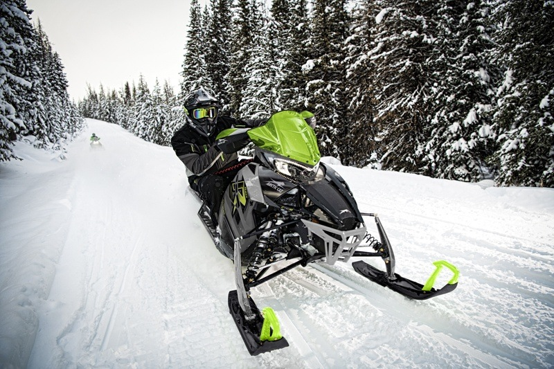 2021 Arctic Cat Riot 8000 1.60 ES in Fairview, Utah - Photo 2