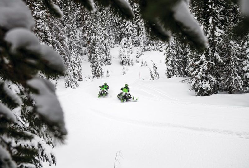 2021 Arctic Cat ZR 6000 Limited ATAC ES in Saint Helen, Michigan - Photo 2