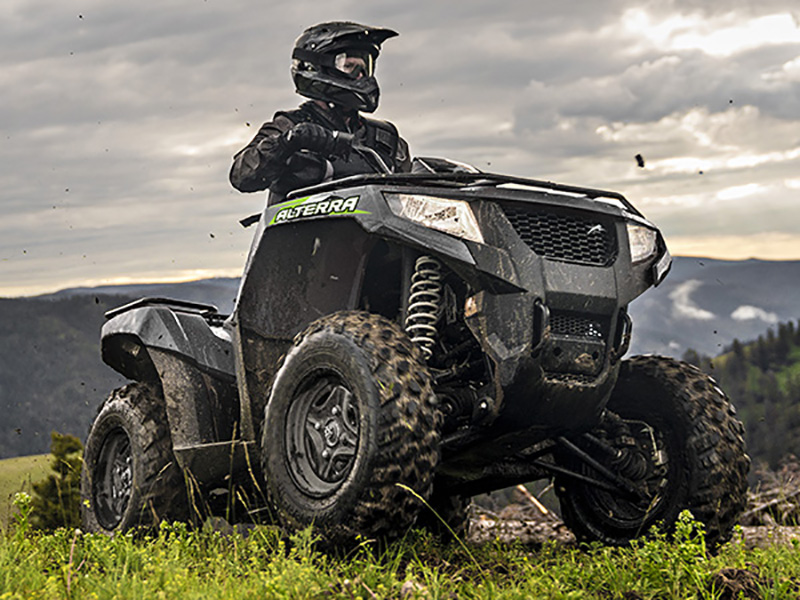 2021 Arctic Cat Alterra 570 EPS SE in Escanaba, Michigan - Photo 2