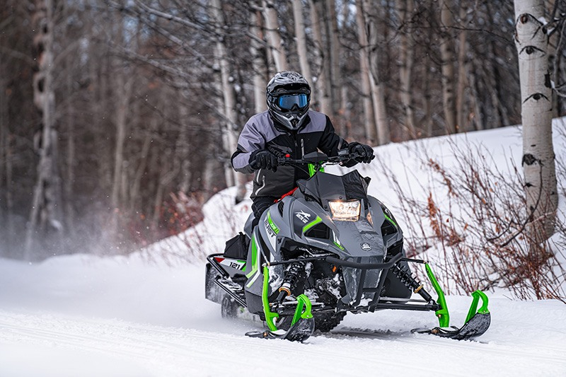 2022 Arctic Cat Blast ZR 4000 ES with Kit in Elma, New York - Photo 2